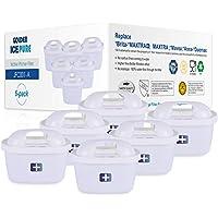Filtro de agua de repuesto para Brita Maxtra+, Brita Maxtra, Mavea, Anna Duomax por Golden ICEPURE (6 unidades) 6