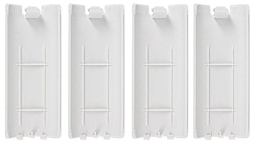 ocharzy Wii Remote Battery Cover Pack of 4 (White)