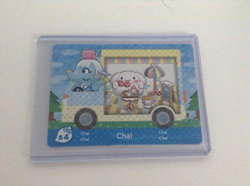 Chai - S4 - ENGLISH VERSION - Nintendo Animal Crossing New Leaf Sanrio amiibo Card