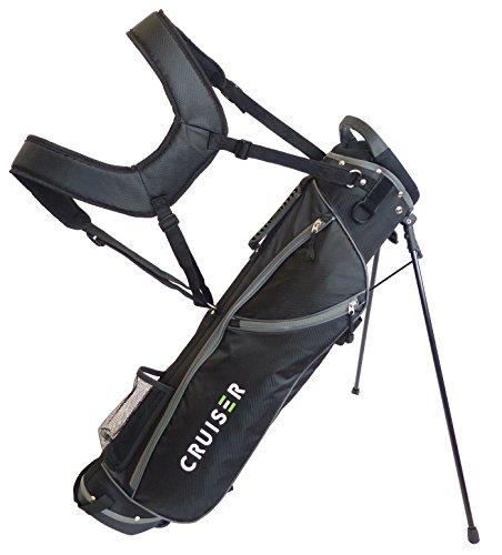 Bullet leichte Golftasche, 16,5cm, von Cruiser Golf, schwarz