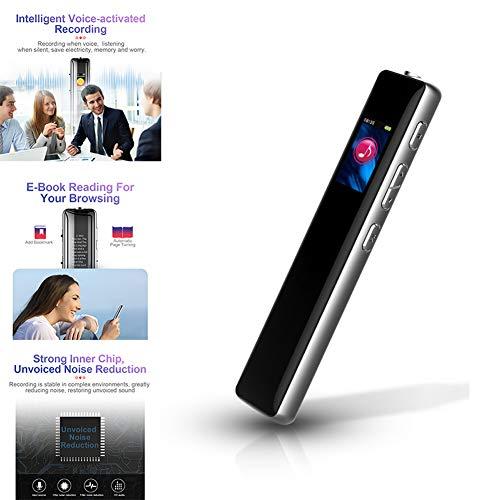 Digital Voice Recorder, grote capaciteit Noise Reduction Multi-connectors Dictaphone voor Student Lezingen Vergaderingen, stijlvolle en compacte MP3-speler,32gb