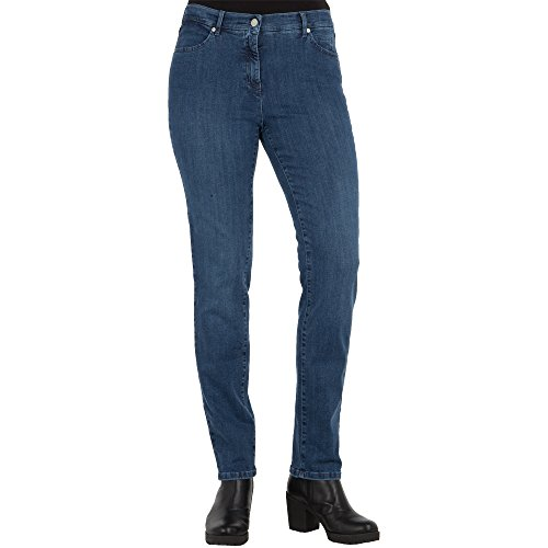 TONI Damen 5-Pocket-Jeans »Perfect Shape« mit figurformendem Effekt 42 Mittelblau