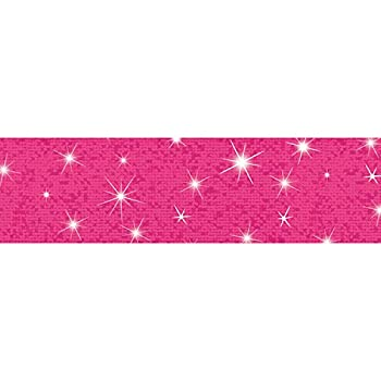TREND ENTERPRISES INC Hot Pink Sparkle Bolder Borders 32.5