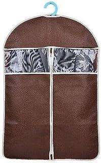 FidgetGear High Quality Garment Clothes Suit Dust-Proof Cover Storage Bag Organizer 4 Color Coffee S-88 * 60cm