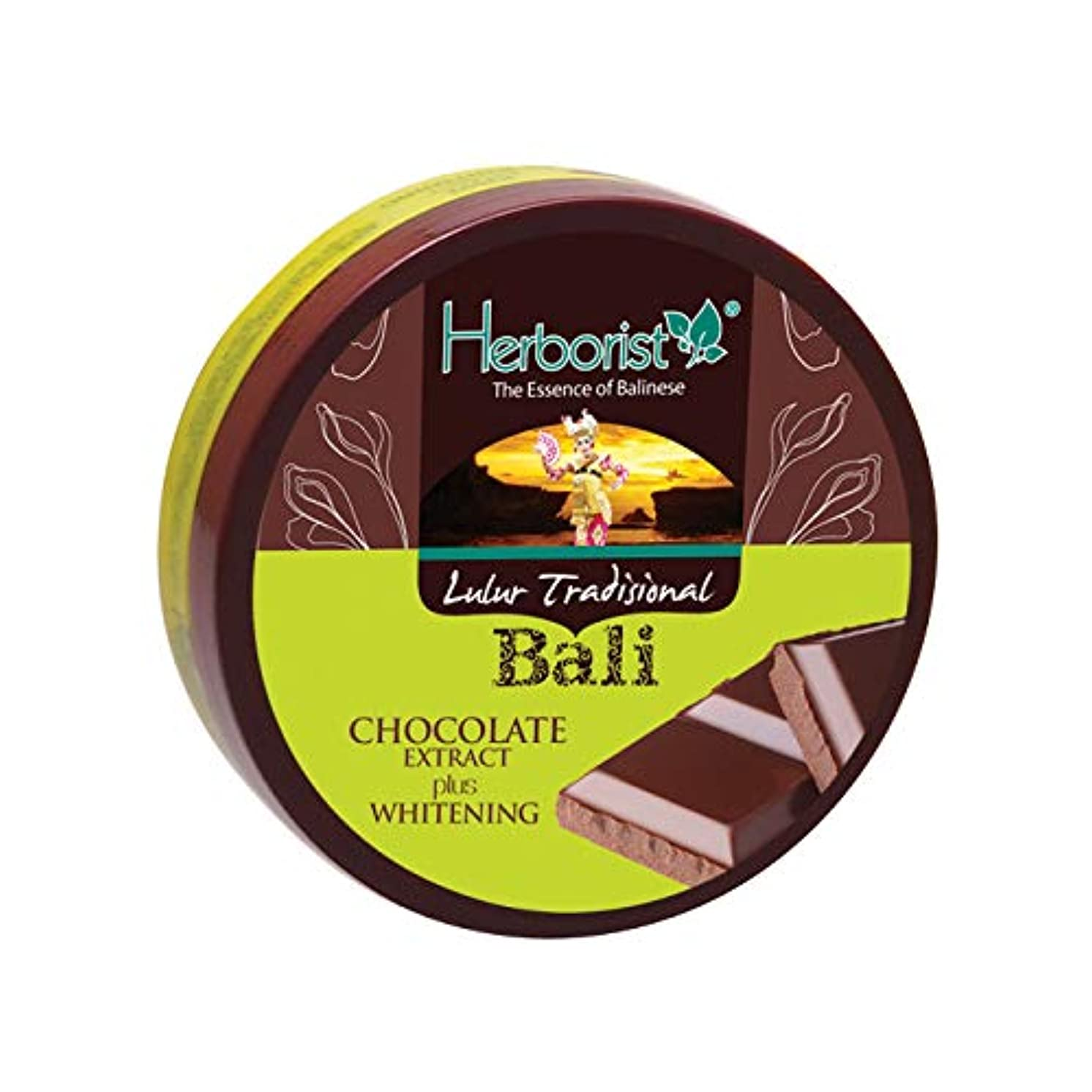 ボタン密度変形Herborist ハーボリスト インドネシアバリ島の伝統的なボディスクラブ Lulur Tradisional Bali ルルールトラディショナルバリ 100g Chocolate チョコレート [海外直送品]