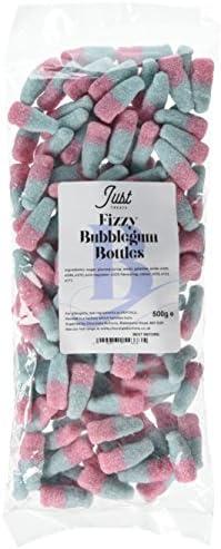 Just Treats Fizzy Bubblegum Bottles (500g Treat Bag)