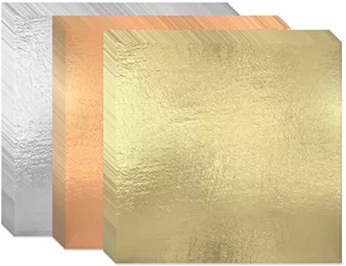 300 Hojas Papel de Oro de Imitación Pan de Oro de Imitació...