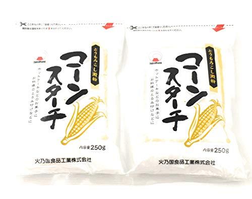 【まとめ買い】火乃国 コーンスターチ 250g×2袋