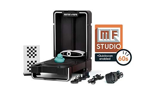 Matter & Form MFS1V2 3D Scanner V2 +Quickscan, Noir
