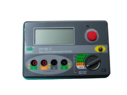 Duoyi DY30-2 2500V 20G Ohm Digital Insulation Tester Megohmmeter DY30-2