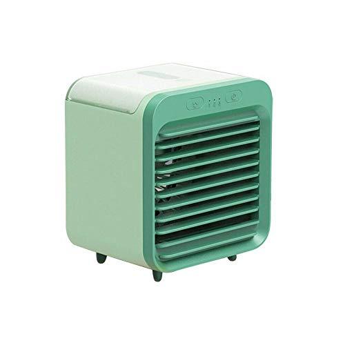xinkewangluokeji Enfriador de Aire portátil, Ventilador de enfriamiento de Aire móvil, pequeño 3 en 1 Aire Acondicionado Enfriador y humidificador, para el hogar de Verano