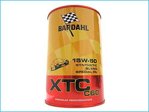 Bardahl Olio Motore XTC 15W-50 C60 Sintetico 1 LITRO - 324040