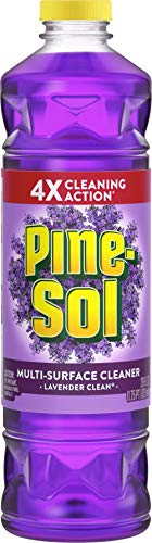 Pine-Sol All Purpose Multi-Surface Cleaner, Lavender Clean, 28 Ounces (Package May Vary)