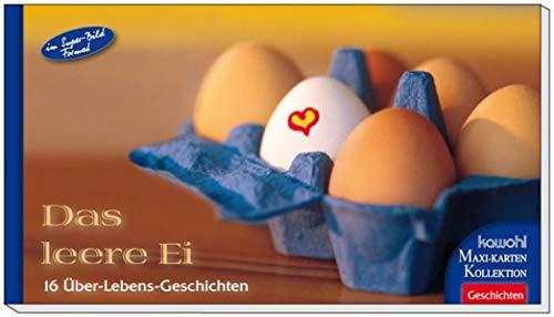 Das leere Ei: Kawohl-Maxi-Postkarten-Buch