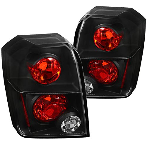 Spec-D Tuning LT-CAL06JM-TM Dodge Caliber Euro Altezza Black Tail Lights Pair