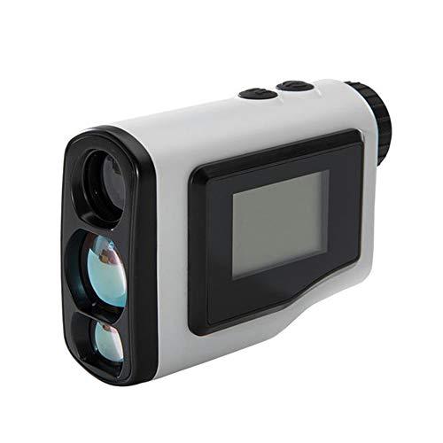 XUMENG Telemetro da Golf 600Yards, Multifunzione Rangefinder 6X Ingrandimento, Misuratore di Distanza, velocità, Bloccaggio di Pennone, Leggero E Portatile, per Caccia Golf Tiro