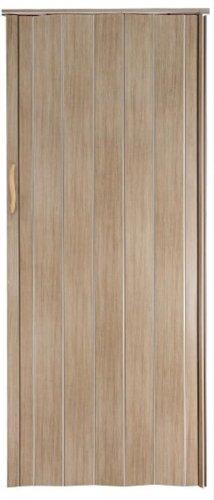 Falttür Schiebetür Tür Sonoma Eiche hell farben Höhe 202 cm Einbaubreite bis 96 cm Doppelwandprofil Neu