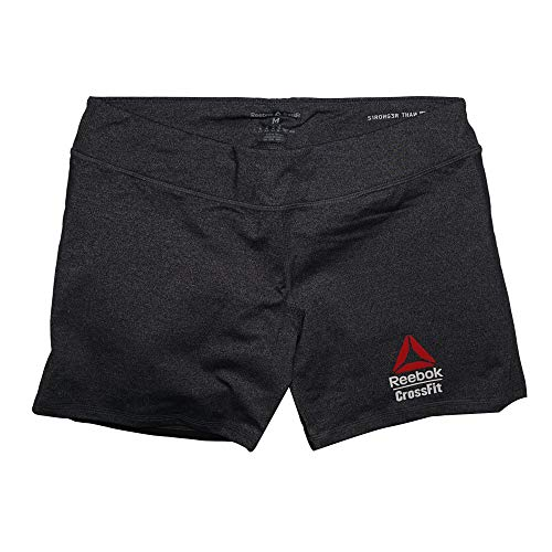 Reebok Crossfit Women's Black 2015 Crossfit Games 5 Inch Performance Shorts (M)