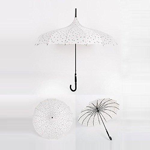 bpblgf H Professionnel Pas Cher à La Mode MéNage Coupe-Vent Mariage Parapluie, 1