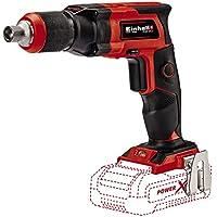 Einhell 4259980 Atornillador de obra TE-DY 18 li-solo en seco sin batería, Rojo/Negro