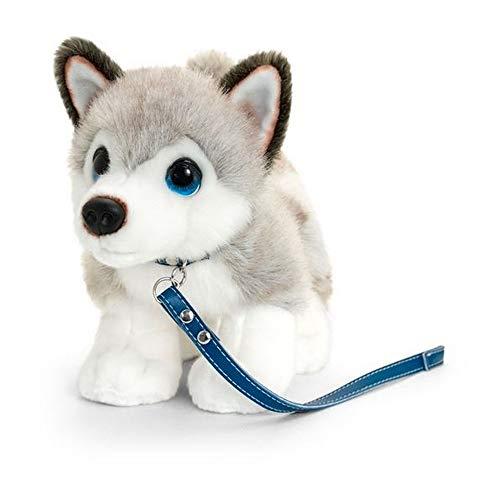 Kiel speelgoed handtekening knuffel Husky puppy op lood