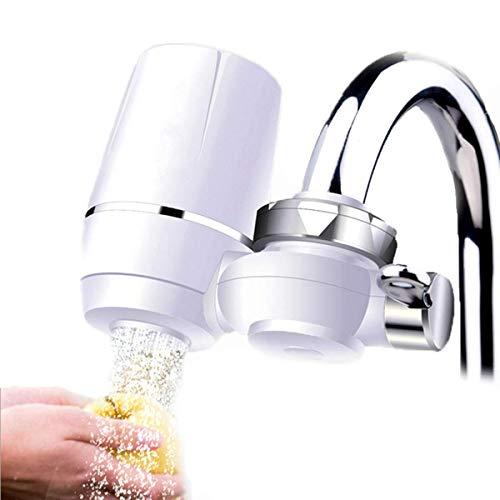 YLLN Sistema de filtración del Grifo del Filtro de Agua del Grifo con Filtro de cerámica Grifo del Filtro de Agua para la Oficina de la Cocina del hogar.