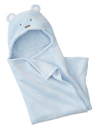 BienBien Toalla de Baño del Bebé Bata de Estar por Casa de Polar con Capucha Animales Albornoces para Niñas Niños Suave Baño Wrap Túnica Recién Nacidos y Bebés