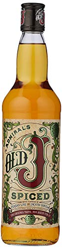 Admiral Vernon's Old J Spiced Rum 35%