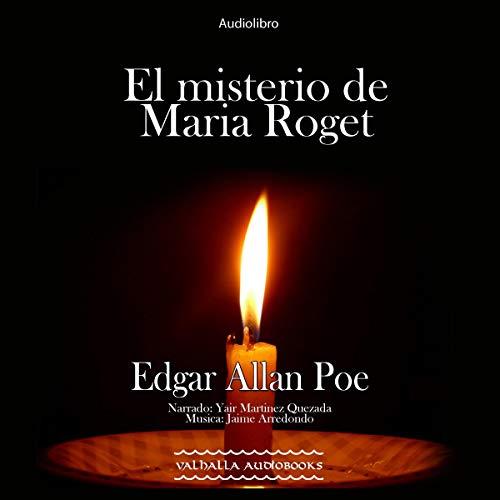 Diseño de la portada del título El misterio de Maria Roget