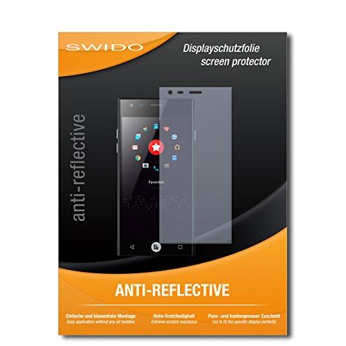 SWIDO Bildschirmschutzfolie für ID2ME ID1 [3 Stück] Anti-Reflex MATT Entspiegelnd, Extrem Kratzfest, Schutz vor Kratzer/Bildschirmschutz, Schutzfolie, Panzerfolie