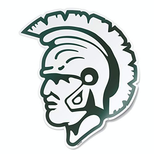 Michigan State MSU Spartans College Vault 1965 Spartan Helmet Logo Car Window Decal Vinyl Bumper Sticker Laptop Sticker Made in East Lansing, Michigan USA