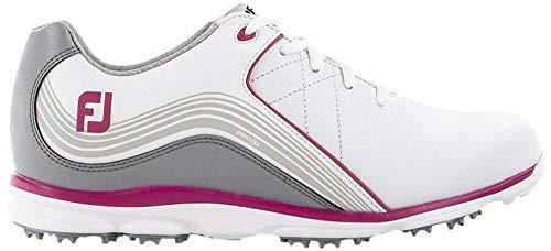 Footjoy Damen Pro S/l Golfschuhe, Weiß (Blanco/Gris/Rosa 98101m), 35 EU