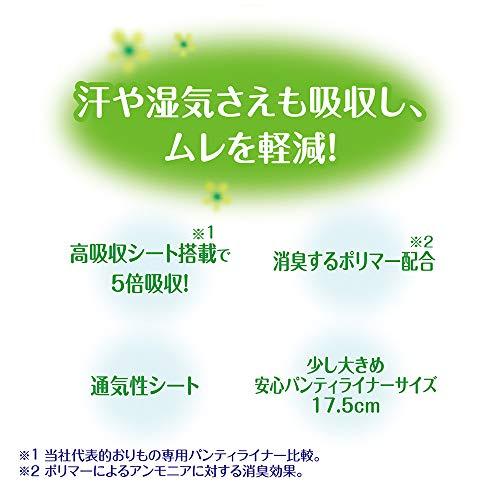 unicharm(ユニ・チャーム)チャームナップ『吸水さらフィオーガニックコットン微量用無香料』
