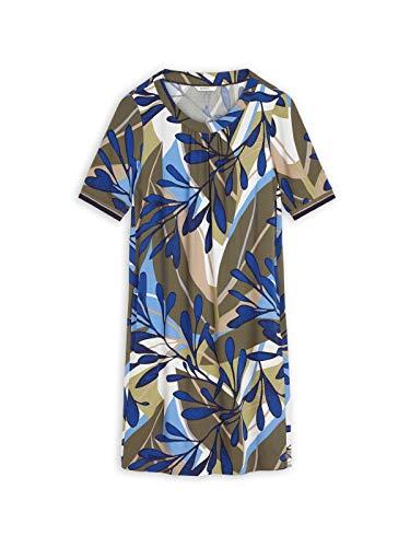 Sandwich Damen Kleid mit farbenfrohem Print