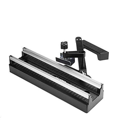 KANJJ-YU Kit de carpintería circular Sierra borde guía carril pista carpintería herramienta de corte 415mm durable torno taladro