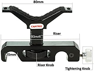 Camtree Universal Long Camera Lens Support 15 mm Rail Rod Support System for DSLR (C-LBS)