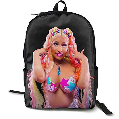 XiteSima Nicki Minaj Portable Traveling Backpack College Backpack Multipurpose Daypacks