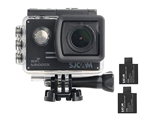 SJCAM SJ5000X Elite WiFi 4K 24fps 2K30fps Gyro Sports DV 2.0 LCD NTK96660 Diving 30m Waterproof Action Camera Black