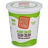 Good Karma Plant Based Sour Cream, 16 Ounce -- 6 per case.
