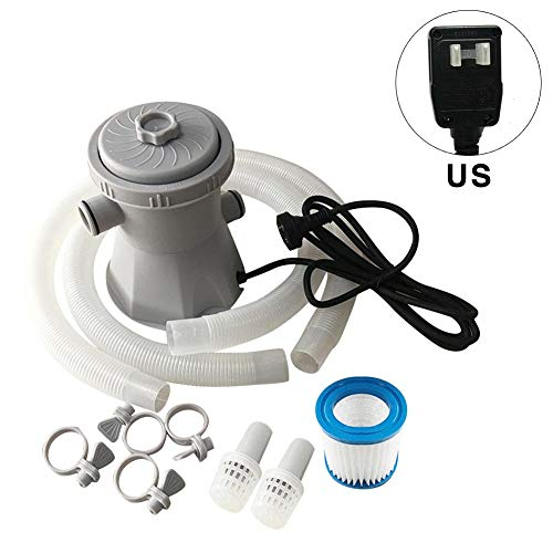 Pool Pump Filter Above Ground Swimming Pools Sand Accessories Filters Timer Pumps Parts Stock Tank-Filter Set 300- Gallon Above Ground For Swimming Pool Circulation Filter Pump Water Pump HS-630