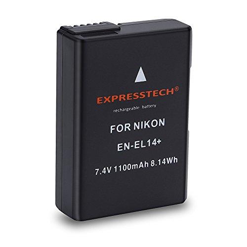 Expresstech @ Reemplazo batería EN-EL14 ENEL14 1100mAh