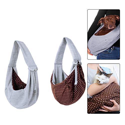 HONMIED Hundetragetasche, Schultertasche für Katze und Haustier, Haustier-Tragetasche, Umhängetasche Haustier Transporttasche für Outdoor