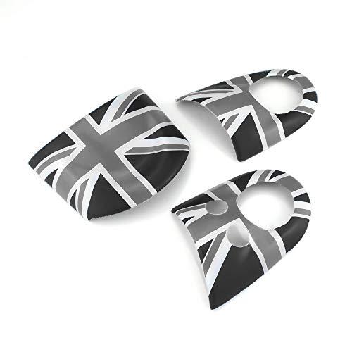 QIDIAN - Accesorios de Estilo para Coche para Mini Cooper R55 R56 R57 R58 R59 R60 R61 Countryman Volante salpicadero calcomanía para Mini Cooper