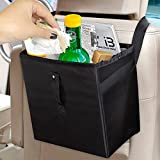 Car Trash Can ,Foldable 100% Leak Waterproof Car Garbage Can,Multifunctional Car Trash Bag for Truck,SUV ,Family Trip ,Storage,Keep Clean