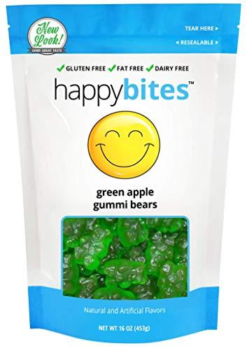 Happy Bites Green Apple Gummi Bears