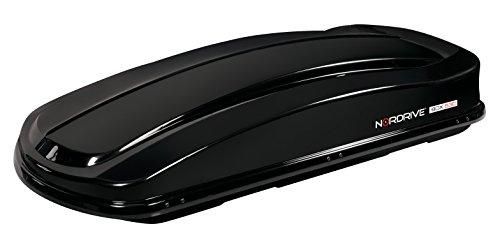 Lampa N60025 dakkoffer van ABS, zwart glanzend, 530 liter