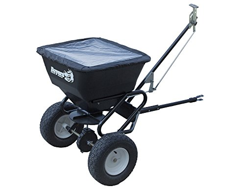 Buyers Products TB150BG Tow Behind Broadcast Spreader 100 lbs Capacity