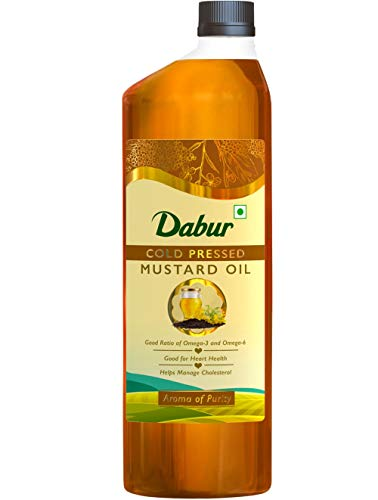 DABUR Cold Pressed Mustard Oil - 1 L