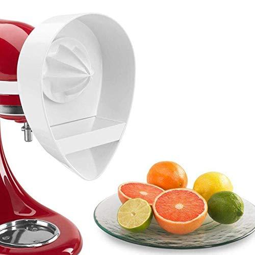 Exprimidor Je, accesorio opcional para robot de cocina KitchenAid, utensilios de cocina, mini exprimidor de porcelana tradicional (blanco)