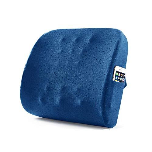 Zzxx 6 kleur Suede Kussen Zachte Comfortabele Stoel Kussens Effen Kleur Stoel Kussen Vloer Tatami Kussen, Suede Blauw